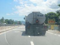 Huế: Xe tải bốc cháy ở đuôi xe, tài xế vẫn thản nhiên lưu thông trên QL 1A