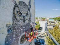 Ngôi nhà bỏ hoang 'hồi sinh' dưới bàn tay của các nghệ sĩ đường phố