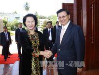 Báo chí Lào đánh giá cao chuyến thăm của Chủ tịch Quốc hội