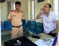 Giám đốc phi xe vào cổng UBND tỉnh Thanh Hóa bị phạt 17 triệu