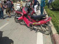 Hà Nội: Tai nạn liên hoàn, một người bị thương nặng