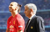 Ibra ghi bàn nhờ nhận quà đặc biệt từ HLV Mourinho