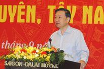 Thượng tướng Tô Lâm chủ trì Hội nghị Giao ban 3 Ban chỉ đạo Tây Bắc, Tây Nguyên, Tây Nam Bộ