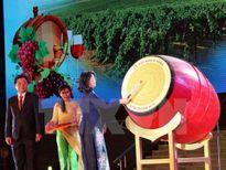 Tưng bừng khai mạc Lễ hội Nho và Vang Ninh Thuận 2016