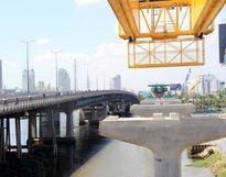 Hợp long cầu Metro đầu tiên vượt sông Sài Gòn