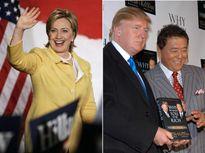 Ông Donald Trump và bà Hillary Clinton đã làm gì trước khi tranh cử?