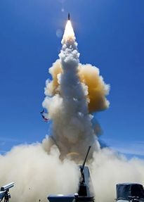Tên lửa Mỹ đánh chặn từ ngoài đường chân trời