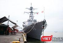 Khám phá khu trục hạm tên lửa Mỹ thăm hữu nghị Đà Nẵng