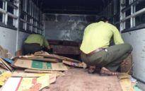 Thanh Hóa: Bắt xe nghi chở gỗ lậu mang ra Hà Nội tiêu thụ