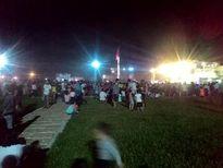 [Ảnh]: Rực rỡ màn pháo hoa đêm hội kỷ niệm 25 năm tái lập tỉnh Lào Cai