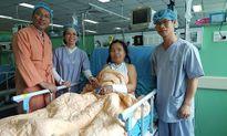 Phẫu thuật lấy mảnh mìn ghim trong tim 45 năm