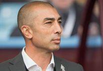 Di Matteo bị Aston Villa sa thải sau gần 4 tháng tại vị