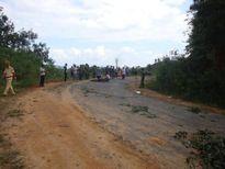 Kon Tum: Điều tra ô - tô tông 2 người chết bỏ trốn