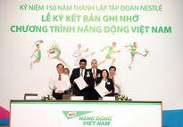 Nestlé chung tay nâng cao tầm vóc người Việt
