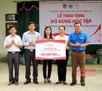 Prudential Việt Nam tặng quà 3 trường học tại Châu Hoàn