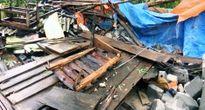 Lốc xoáy kinh hoàng ở Quảng Trị