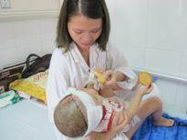 Lần đầu tiên nối da đầu thành công ở trẻ 2 tuổi