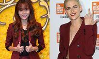 An Nguy nhiều lần diện đồ như 'cosplay' Kristen Stewart