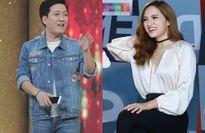 Ca sĩ giấu mặt: Trường Giang liên tục 'chặt chém' Hương Giang Idol