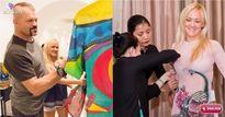 Ngôi sao võ thuật Chuck Liddell đưa vợ gốc Việt đi mua áo dài tại Sài Gòn