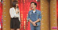 Ca sĩ giấu mặt: Trường Giang tranh thủ nịnh bạn gái Nhã Phương trên truyền hình