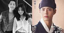 Cặp đôi Song Joong Ki - Song Hye Kyo cùng gửi xe tải cà phê ủng hộ mỹ nam Park Bo Gum
