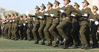 Cận cảnh: Duyệt binh hoành tráng trong lễ khai giảng Học viện An ninh