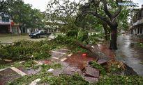 Hình ảnh mới nhất siêu bão Sarika tàn phá Hải Nam