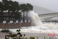 Hình ảnh bão Sarika càn quét phía nam Trung Quốc