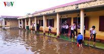 Các trường vùng rốn lũ Quảng Trị dạy học trở lại sau trận ngập lụt