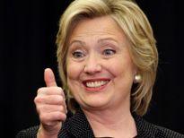 Hattrick chiến thắng của bà Clinton trên thị trường