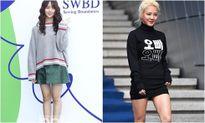 Hyo Yeon lộ chân ngắn, bụng mỡ tại Seoul Fashion Week