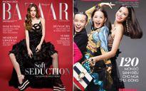Hồ Ngọc Hà & Phạm Hương, 2 cái bìa báo nhưng 'chung' váy đầm 200 triệu, ai đẹp hơn?