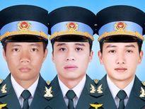 Quyết định truy tặng Huân chương, truy thăng quân hàm cho 3 phi công