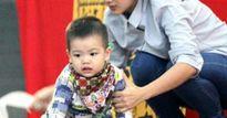 Máy bay rơi ở Vùng Tàu: Con trai 2 tuổi chập chững bên bàn thờ cha