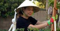 Ngắm khu vườn xanh mướt của ca sĩ Thanh Thảo bên trời Tây
