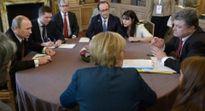 Không có đột phá trong cuộc gặp 'định dạng Normandy' ở Berlin