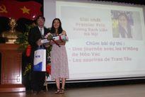 Trao giải Cuộc thi 'Phóng viên trẻ Pháp ngữ -Việt Nam 2016'