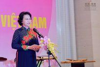 Ra mắt Nhóm nữ đại biểu Quốc hội Việt Nam nhiệm kỳ Quốc hội khóa XIV