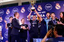 Đội bóng phủi Hà Nội tập huấn cùng HLV Real Madrid