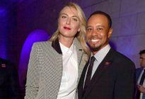 Sharapova sánh vai Tiger Woods ở tiệc từ thiện