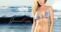 Joanna Krupa - fan nữ Liverpool đốt nóng cả bãi biển Miami