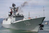 3 chiến hạm Hải quân Trung Quốc cập cảng Cam Ranh