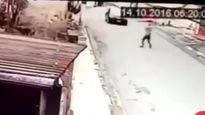 Tên cướp bị bắn gục vì chặn nhầm xe cảnh sát