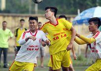 Kết quả, hình ảnh lượt trận sáng 23-10 giải bóng đá học sinh THPT Hà Nội