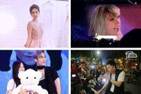 Top 5 showbiz: Ngọc Trinh thử váy đính hàng nghìn viên pha lê