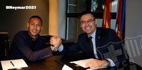 Ký hợp đồng khủng, Neymar nguyện vươn thành huyền thoại Barcelona