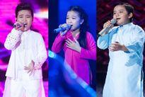 Xem lại màn đơn ca xuất sắc của top 3 Giọng hát Việt Nhí 2016 liveshow 6