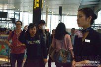 Chồng Lâm Tâm Như nổi giận, chỉ thẳng tay vào mặt phóng viên 'cảnh cáo'