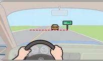 Nguyên tắc 'khoảng an toàn' khi lái xe